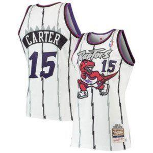 NBA Nike Toronto Raptors Vince Carter Jersey #15